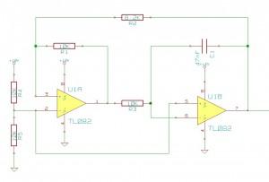 Schéma de l'oscillateur